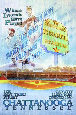 Satchel Paige Photograph - Chattanooga Historic Baseball Poster by Steven Llorca