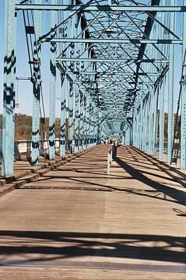 Chattanooga Walking Bridge Print by Jake Hartz