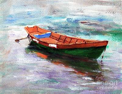 Dingy Painting - Cheapie Del Rio by Randy Sprout