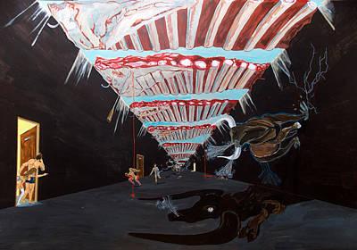 Painting - Cheaters by Lazaro Hurtado
