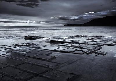 Checkerboard Squares Print by Mike  Dawson