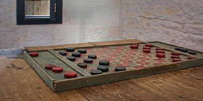 Board Game Photograph - Checkered Past - Checkers by Nikolyn McDonald