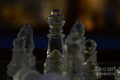 Checkmate 3 Print by Eva Maria Nova