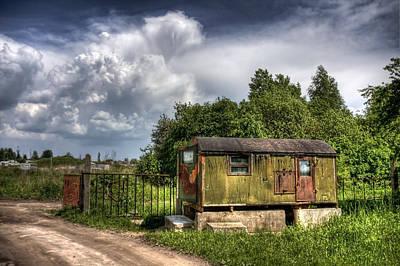 Ukraine Photograph - Checkpoint by Evelina Kremsdorf