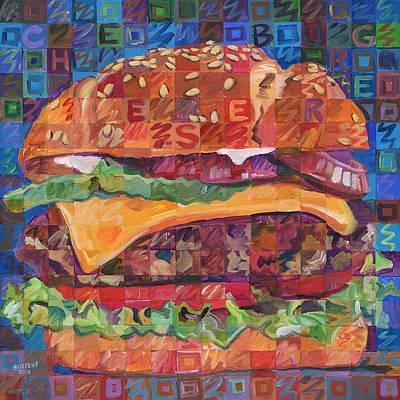 Cheeseburger Original by Randal Huiskens