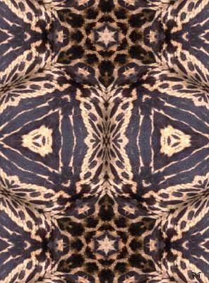 Cheetah Digital Art - Cheetah Print by Maria Watt