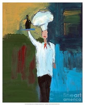 Chef 1 - Mindy S. Original by Empowered Creative Fine Art