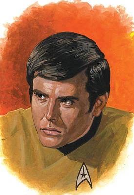 Star.star Trek Painting - Chekov by Harold Shull