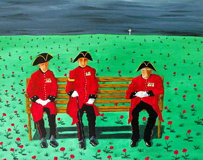 Chelsea Pensioners Original by Sandy Wager