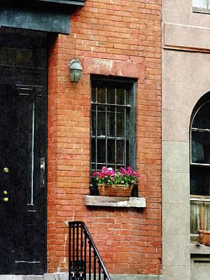 Chelsea Windowbox Print by Susan Savad