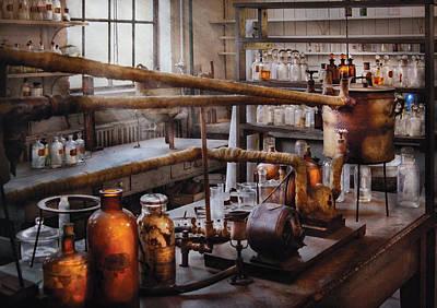 Chemist - The Still Print by Mike Savad