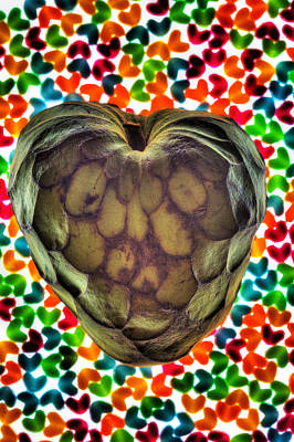 Cherimoya Photograph - Cherimoya Heart by Robert Storost