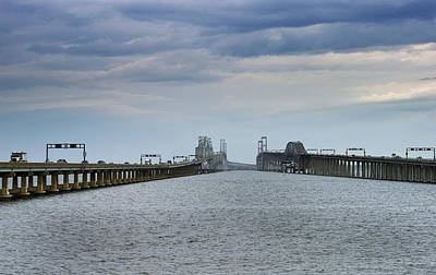 Chesapeake Bay Photograph - Chesapeake Bay Bridge Maryland by Brendan Reals