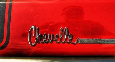 Chevelle By Chevrolet  Print by Jame Hayes