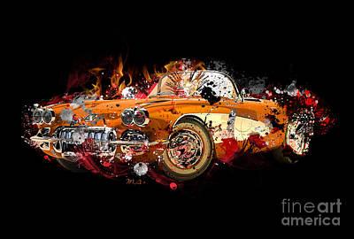 Chevrolet 2 Print by Mark Ashkenazi
