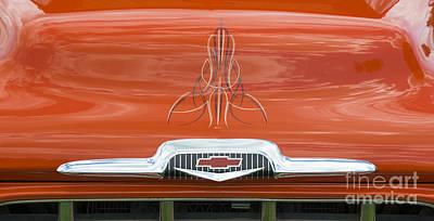 56 Chevy Pickup Photograph - Chevrolet 24 by Wendy Wilton