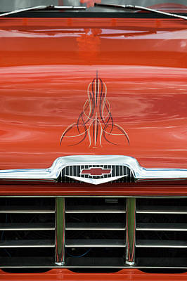 56 Chevy Pickup Photograph - Chevrolet 28 by Wendy Wilton