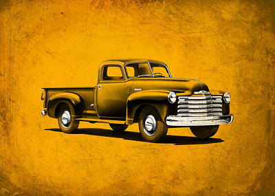 Pick-up Photograph - Chevrolet 3100 by Mark Rogan