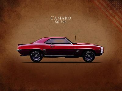 Camaro Photograph - Chevrolet Camaro Ss 396 by Mark Rogan
