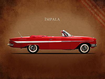 Photograph - Chevrolet Impala Ss 409 by Mark Rogan