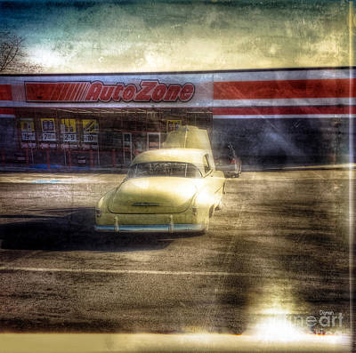Retail Digital Art - Chevy Zone by Steven Digman