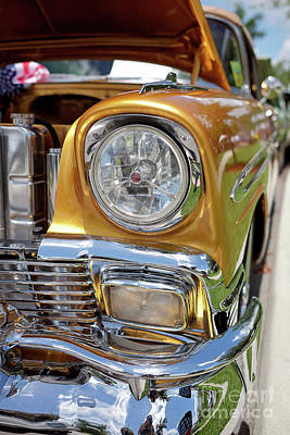 Photograph - Chevy Belair 56 by Eyzen Medina