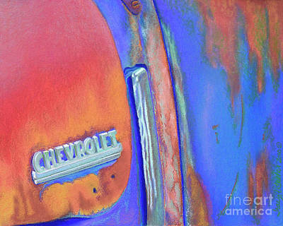 Chevy Blues Original by Tracy L Teeter