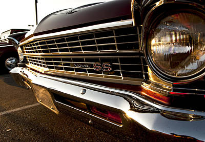 Bumper Photograph - Chevy Nova Ss by Cale Best