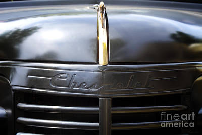 Ute Photograph - Chevy Street Rod by Linda Lees