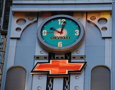 Chevy Times Square Clock Original by Rob Hans