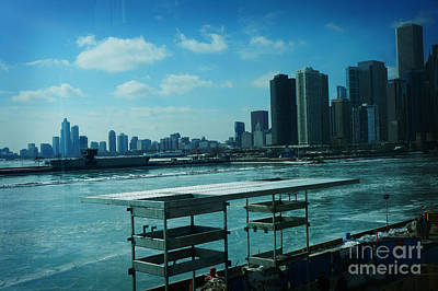 America Painting - Chicago by Celestial Images