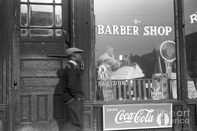 Chicago: Barber Shop, 1941 Print by Granger