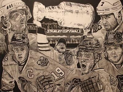 Chicago Blackhawks Victory Original by Brian Sanford