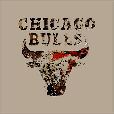 Chicago Bulls 23b Print by Brian Reaves