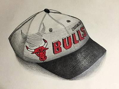 Chicago Bulls Print by Jacyca Abrams