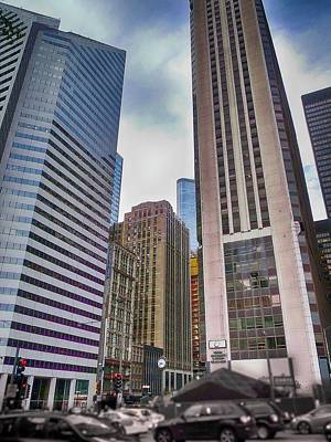 Chicago Photograph - Chicago Cityscape 01 by Earolyn Photography By Teague