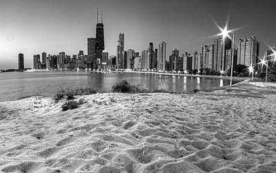 Chicago Skyline Photograph - Chicago From North Beach by Twenty Two North Photography