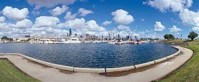 Chicago Harbor, Illinois Print by Panoramic Images