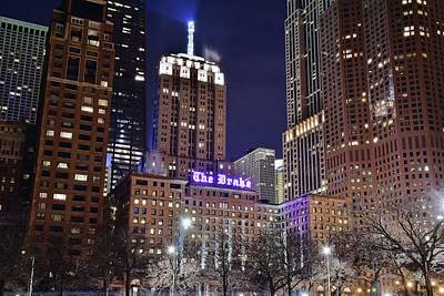 Drake Photograph - Chicago Hotel The Drake by Frozen in Time Fine Art Photography