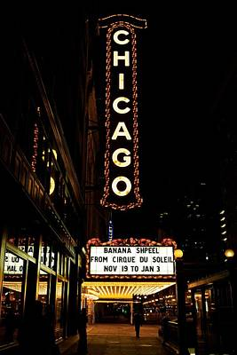 Limelight Photograph - Chicago Limelights by Miranda  Miranda