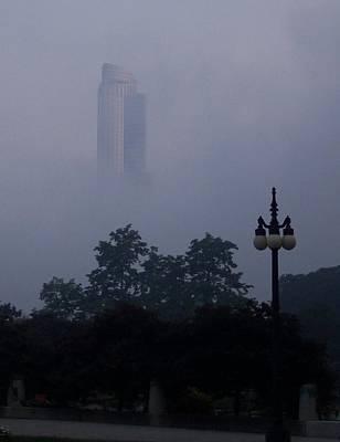 Chicago Mist Print by Anna Villarreal Garbis