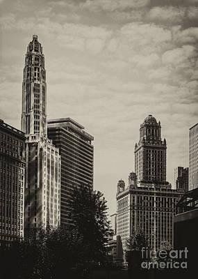 Chicago Riverside Print by Andrew Paranavitana