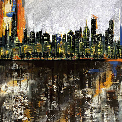 Chicago Skyline 201 1  Original by Mawra Tahreem