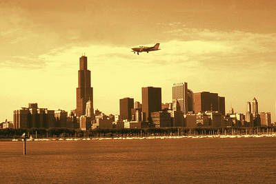 Chicago Skyline 81 - Architecture Photo Print by Art America - Art Prints - Posters - Fine Art