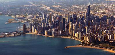 Chicago Skyline August 2009 Original by Joseph G Holland