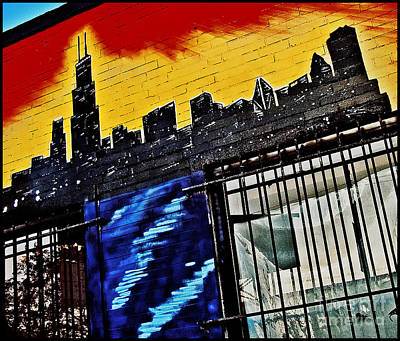 Chicago Skyline Print by Curtis Staiger