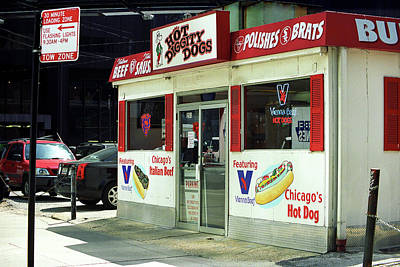Brat Photograph - Chicago Storefront 4 by Frank Romeo