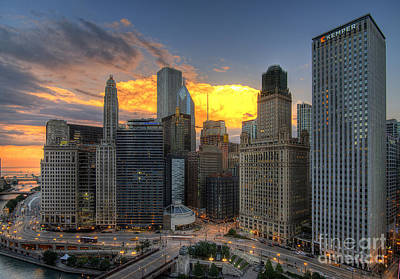 Chicago Storm Print by Jeff Lewis