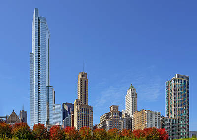 Grant Park Photograph - Chicago The Beautiful by Christine Till