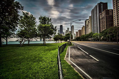 Chicago's Lake Shore Drive Print by Sven Brogren
